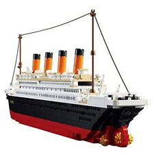 Lego Ship Titanic Building Blocks Model Set The Kit For Kids Adult Large Toy 3D