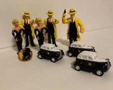 """Disney Dick Tracy Action Figure Lot Applause Pvc 4"""" 1990"""