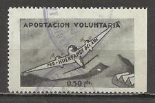 9011-SELLO FISCAL DE AVIACION HUERFANOS DEL EJERCITO DEL AIRE 0,50 PESETAS,APOR