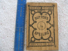 1897 BUTLER'S THE ETYMOLOGICAL SPELLING BOOK & EXPOSITOR.New Revised Edit.GD.CD.
