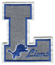 "DETROIT LIONS NFL FOOTBALL VINTAGE 5"" LETTER L LOGO TEAM PATCH"