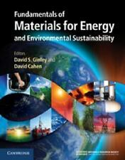 Fundamentals of Materials for Energy and Environmental Sustainability (2011,...