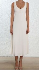 ZIMMERMANN Pearl Maxi Dress RRP £250 With Tags Size 8