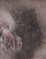 Bruno Bruni Handschuh Originalgrafik Lithographie handsigniert numm. 66x50,5cm