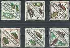 Timbres Insectes Centrafrique taxe 1/12 o lot 19334