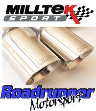 "Milltek Golf GTi MK5 & ED30 3"" Turbo Back Race Exhaust D/Pipe Cat Non Res Polish"