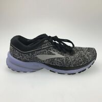 Brooks Womens Launch 5 Running Shoes Black White 1202661B008 Low Top Lace Up 8 B