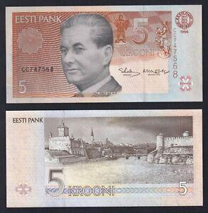 Estonia 5 krooni 1994 FDS/UNC  A-06