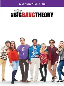The Big Bang Theory | Complete Series | Seasons 1-12 | DVD | New & Sealed