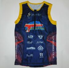 Arkansas Team Endurance For Ms Triathlon Sleeveless Cycling Jersey Shirt Men's M