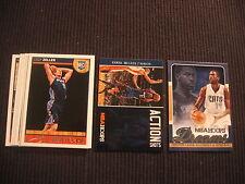 2013-14 PANINI NBA HOOPS CHARLOTTE BOBCATS MASTER TEAM SET 11 CARDS  CODY ZELLER