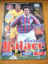 24/01/1998 Crystal Palace v Leicester City [FA Cup] (Team Changes). No obvious f
