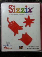 Sizzix Large Red Die Cut Firecracker Embellishment Scrapbooking Quickutz 38-0297