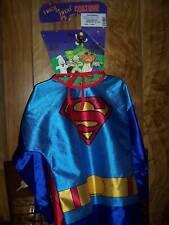 SUPERMAN HALLOWEEN COSTUME BOYS MED 8-10 NEW RUBIES