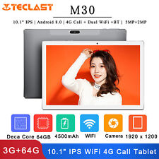 """Teclast M30 10.1"""" IPS Tablet PC Android 8.0 4G Call Dual WiFi 5MP+2MP 3G+64GB"""