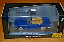 Minichamps 1/43 Maserati 3500 GT Vignale Spider Mint Condition Limited Edition