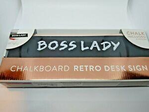 Office Envy Retro Desk Design Chalkboard Rose Gold