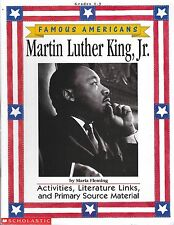 Famous Americans Series Martin Luther King Activities Literature Gr 1-3 Guide