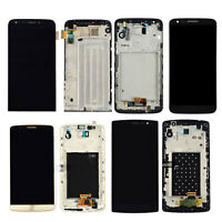 For LG G5 G4 G3 G2 LCD Display Touch Screen Digitizer + Frame Replacement Black