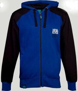 Henleys Hoody Mens Size Medium Blue Black BRAND NEW WITH TAGS Zip hoodie