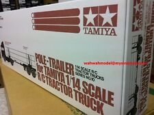 Tamiya 56310 RC 1/14 Pole-Trailer for tractor truck