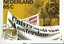 Nederland Maximumkaart(en) R33 W afgestempeld op 1e dag van uitgifte 1982