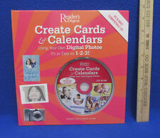 Create Cards & Calendars Using Digital Photos Book & CD Rom Readers Digest 2007