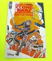 Star Wars Adventures The Clone Wars BATTLE TALES #1 Cover A 1st Print IDW