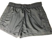Guess Lightweight Black Elastic Waist Active Shorts Womens Size Medium