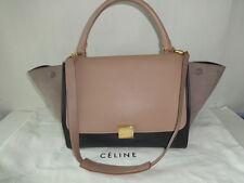 Authentic Celine Tri-color TRAPEZE Shoulder bag Very good to excellent condtion