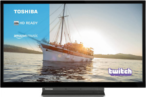 Toshiba 32WK3A63DB 32-Inch HD Ready Smart TV with Freeview Play, 32 Inch