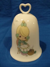 Enesco Precious Moments Mother Sew Dear 1995 Collectors Bell
