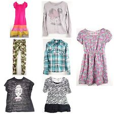 Girls Lot of 7 Shirts Dress Leggings Size 16
