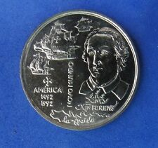 PORTUGAL 200 Escudos Gedenkmünzen 1992 KM#660  NEW WORLD - AMERICA