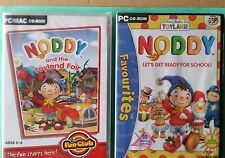 Noddy and The Toyland Fair Pc/mac Computer Game Cd-rom Windows Me 2000 XP X64