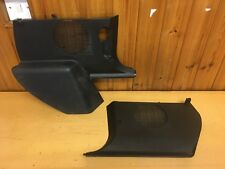 BMW E36 3 series Coupe Pair of Black Front Lower Footwell Speaker Covers 8130894