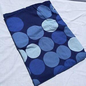 "Twin Duvet Cover Ikea Smorboll Blue Dots 61"" x 85"" 100% Cotton"