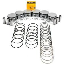 (STD Size) Piston & Ring Set For Dodge Chrysler 2.7L 167 2700 Charger Magnum 300