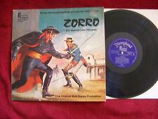 Zorro             orig. Disneyland LP  mit Buch