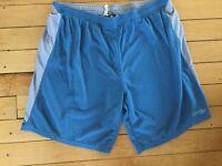 Saucony Gray Blue Mens XL Shorts