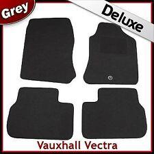 VAUXHALL VECTRA B 1995-2002 1-eyelet Tailored LUXURY 1300g Carpet Car Mats GREY