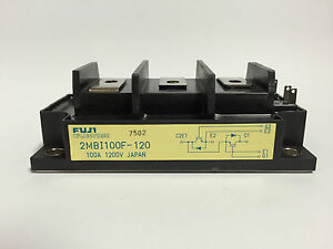 2MBI100F-120 Fuji Electric IGBT Module 100A 1200V Japan 1pc