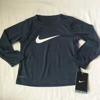 Nike Long Sleeved Shirt, Blue, Size 2T, Gift, $22, Dri Fit 76A299-514, Cool