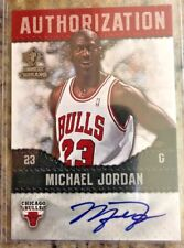 MICHAEL JORDAN 2008-09 UPPER DECK SP ROOKIE THREADS ON CARD AUTOGRAPH SP L@@K