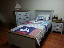 Timber king single bed NEW store return BARGAIN