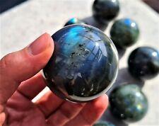 Labradorite Sphere Natural Rainbow Crystal - Madagascar