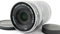 [MINT] Olympus M.Zuiko Digital 40-150mm f4-5.6 R ED Lens Silver From Japan FedEx