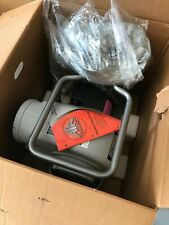 One 1 New Air Systems 2 Speed Confined Space Electric Blower Gray Svb E8 2