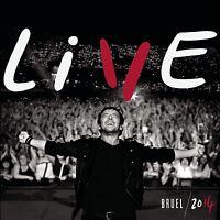 PATRICK BRUEL - LIVE 2014 3 CD + DVD NEUF
