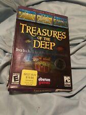 Treasures of the Deep PC 2006 Sealed E PC Puzzle Oberon Games Sea Block 3D